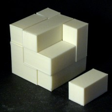 Picture of print of Block cube puzzle