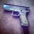 picatinny rail for airsoft G18c (cm030) image