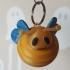 Cute bee keychain image
