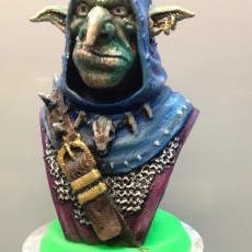 Picture of print of Snaggle The Wise - Goblin Hero