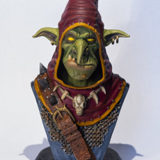 Picture of print of Snaggle The Wise - Goblin Hero This print has been uploaded by BRUNO DELATTRE