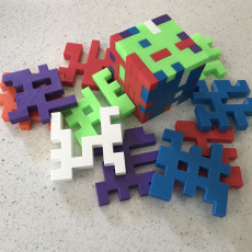 Picture of print of DECA CUBE