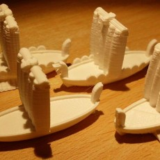 Ships, cities and garrisons for the boardgame  878: Vikings - Invasions of England
