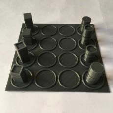 Picture of print of Quarto game