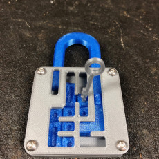Picture of print of Puzzle Lock // Sliding Puzzle