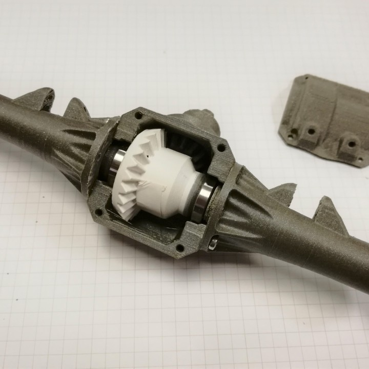 Ossum Rear Axle Mk III
