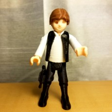 Picture of print of Han Solo