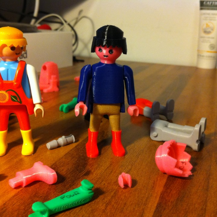 Playmobil fully printable and functional