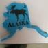 Alaska/Moose Key chain image