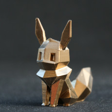Picture of print of Low-Poly Eevee