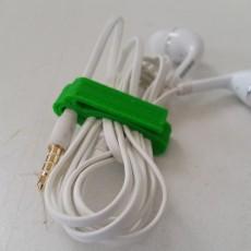 Headphone Wire Clip