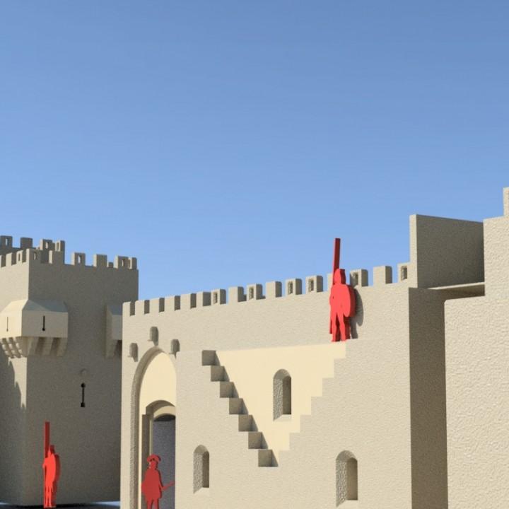 The Old City, Jerusalem 1:200