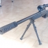 Airsoft sniper rifle flash hider image