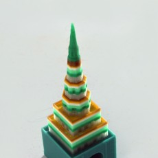 Picture of print of Suyumbike lego tower 3D puzzle