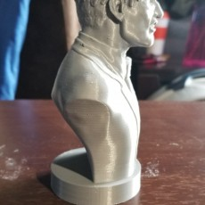 Picture of print of Two-Face Harvey Bust
