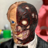 Two-Face Harvey Bust print image