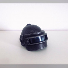 Picture of print of Spetsnaz Helmet for 1/6 figure