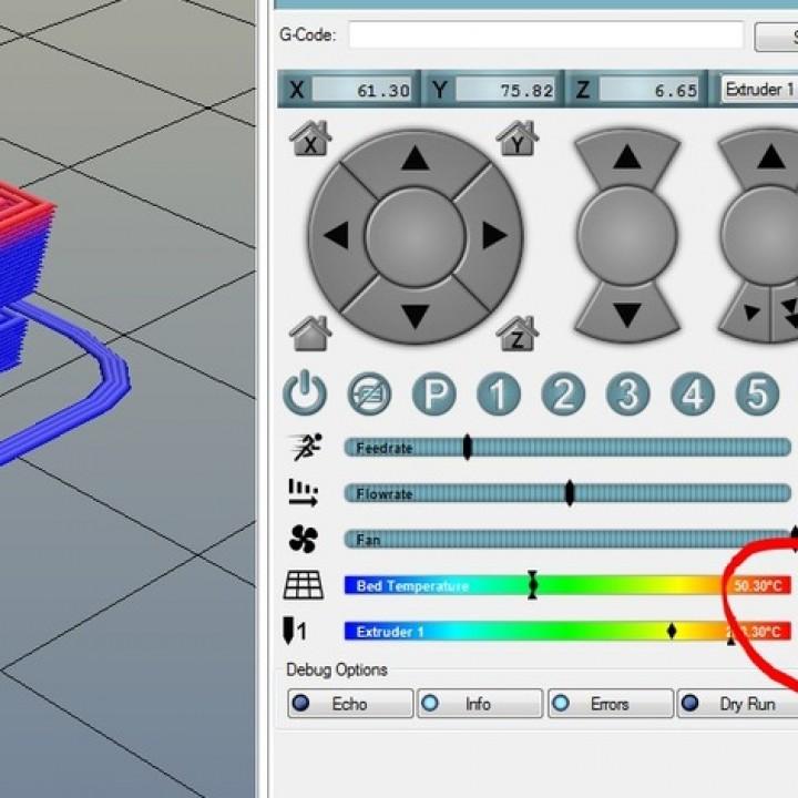 Temperature Stringing calibration blocks