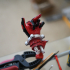 Severed Deadpool hand F***you print image