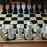 Faceted Chess Set image