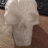 Celtic Skull (Hollow) print image