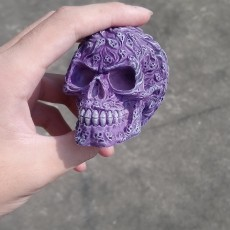 Picture of print of Souls Skull (Hollow)