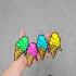 Ice Cream Fridge Magnet image