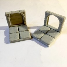 Picture of print of Openforge Stone Arch Edge Doorway