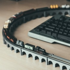Z Scale Viaduct Track Set