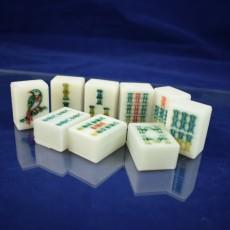 Mahjong Bamboo Tile set