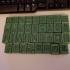 Mahjong Bamboo Tile set print image