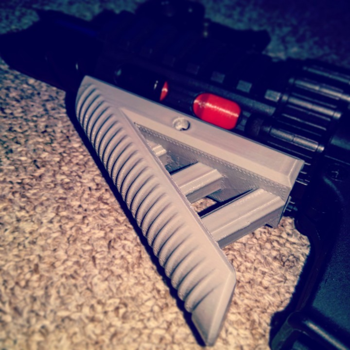 Short Angled Airsoft Grip for G&G FireHawk