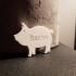 Bacon Pig Keychain image