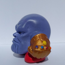 Picture of print of Kirby: Infinity War