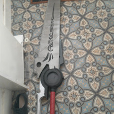 Picture of print of Qrow Sword non-transforming Prop
