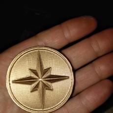 capt. marvel coin