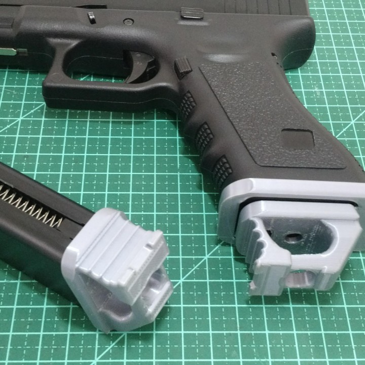 Airsoft magazine speedplate for Glocks