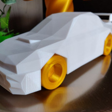 Picture of print of Low Poly Subaru Impreza 22b STi