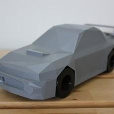 Low Poly Subaru Impreza 22b STi