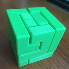 Picture of print of 9-Piece Puzzle Cube