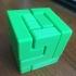 9-Piece Puzzle Cube print image