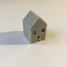 Picture of print of house