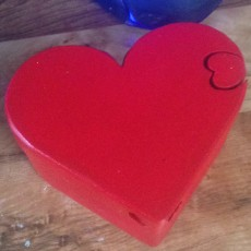heart shaped puzzle box