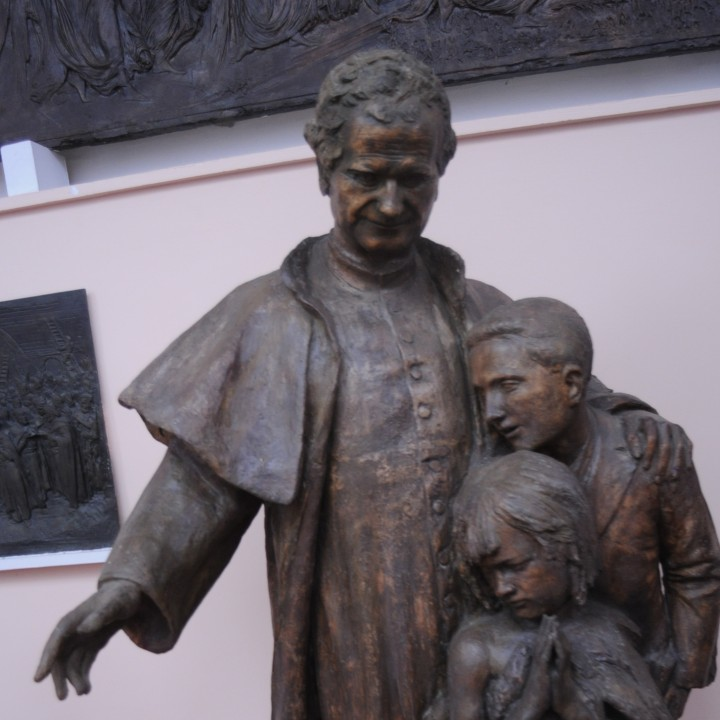 Monument to St. Giovanni Bosco
