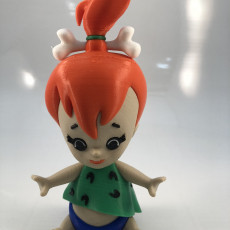 Picture of print of Pebbles Flintstone