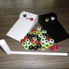 Tabletop Bocce and Cornhole Bearing Puck Games
