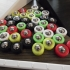 Tabletop Bocce and Cornhole Bearing Puck Games image