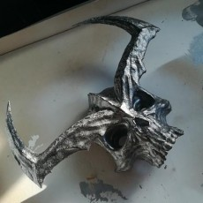 Picture of print of Surtur's Crown from 'Thor Ragnarok' (CHOPPED)