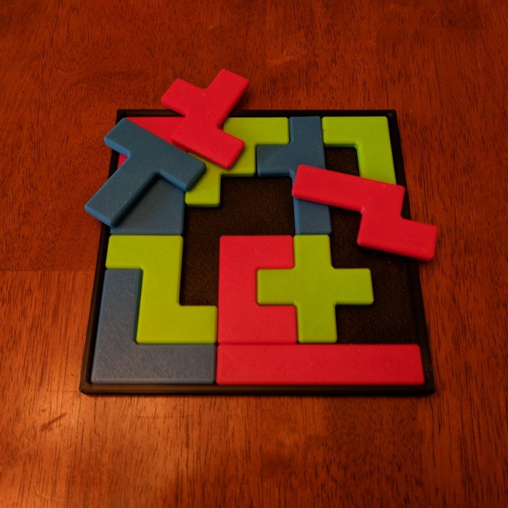 picture relating to Pentominoes Printable known as 3D Printable Pentomino (Tetris) Puzzle as a result of Henry Dudeney as a result of