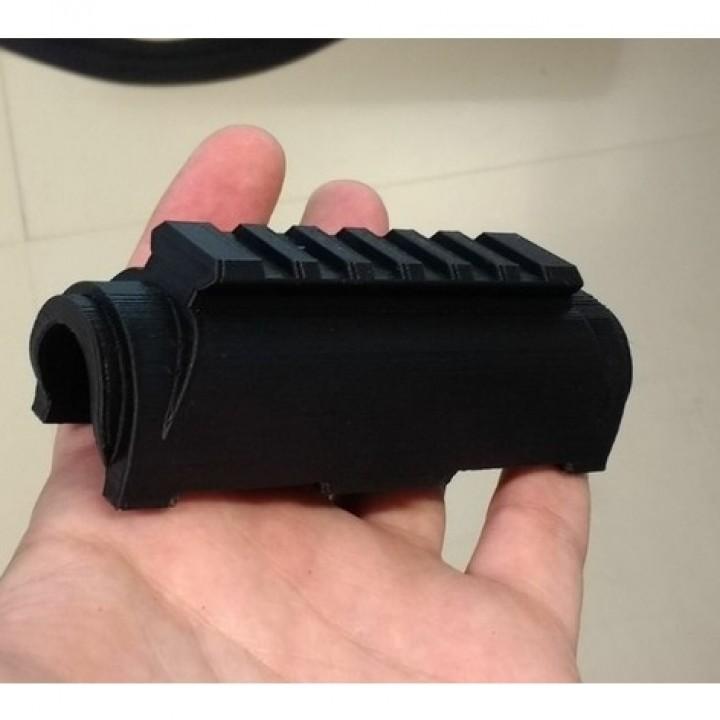 Railed (high-profile) Handguard for AK74u (Cyma)